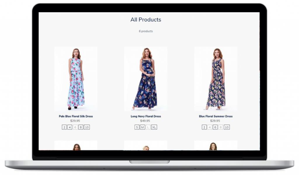 Size Swatch App Demo Website